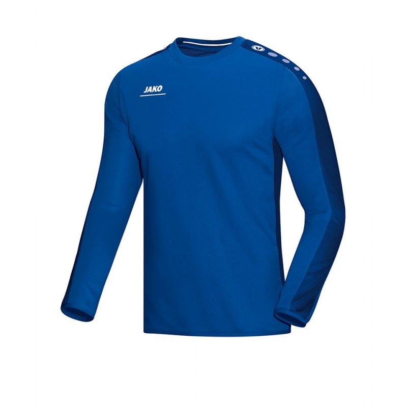 Jako Sweatshirt Striker Kinder Blau F04 - blau