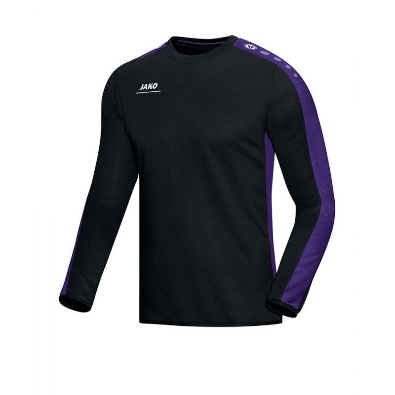 Jako Sweatshirt Striker Schwarz Lila F10 - schwarz