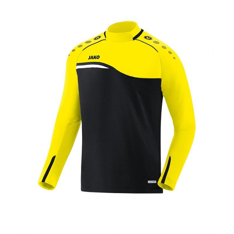 Jako Competition 2.0 Sweatshirt Schwarz Gelb F03 - schwarz