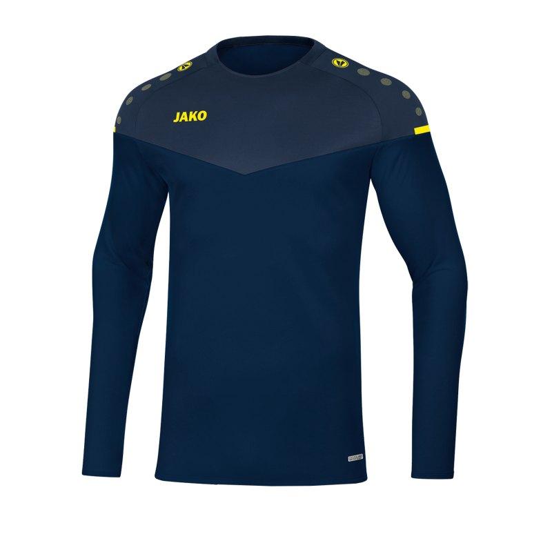 Jako Champ 2.0 Sweatshirt Blau F93 - blau