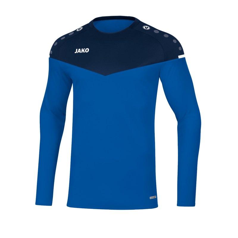 Jako Champ 2.0 Sweatshirt Kids Blau F49 - blau