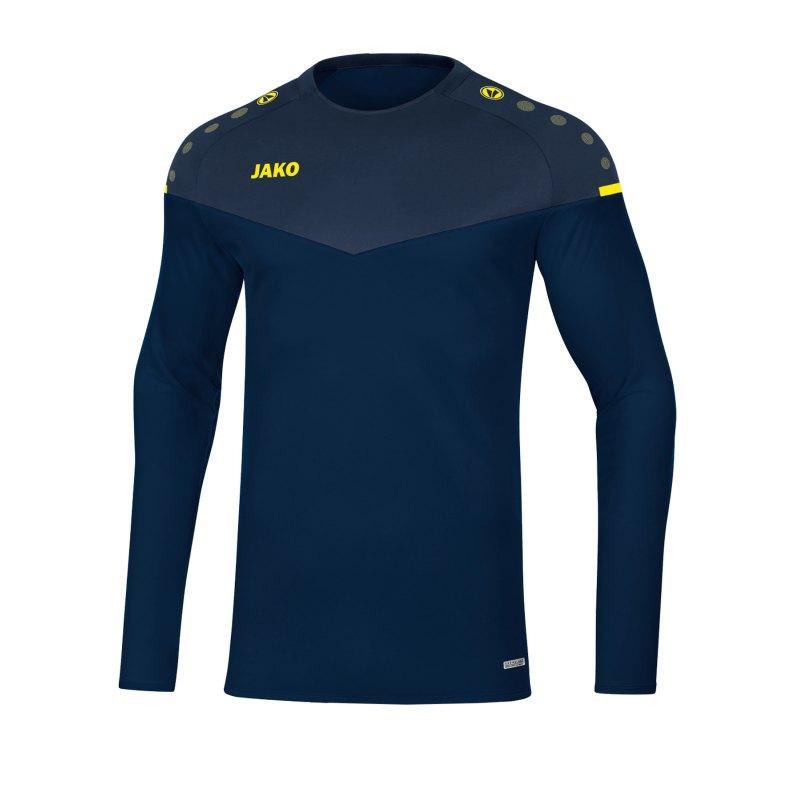 Jako Champ 2.0 Sweatshirt Kids Blau F93 - blau