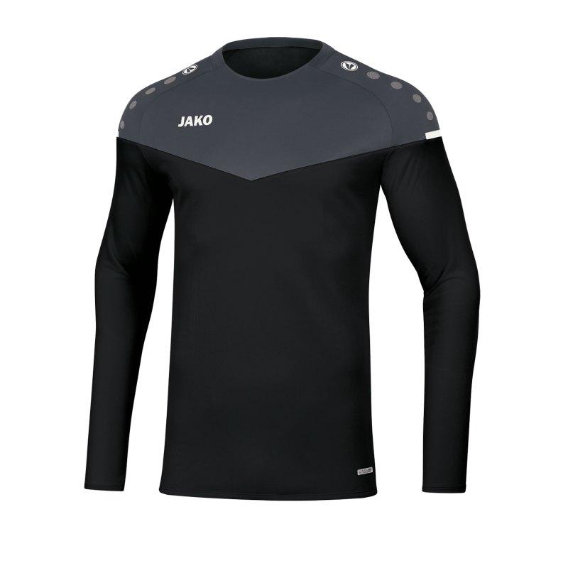 Jako Champ 2.0 Sweatshirt Schwarz F08 - schwarz