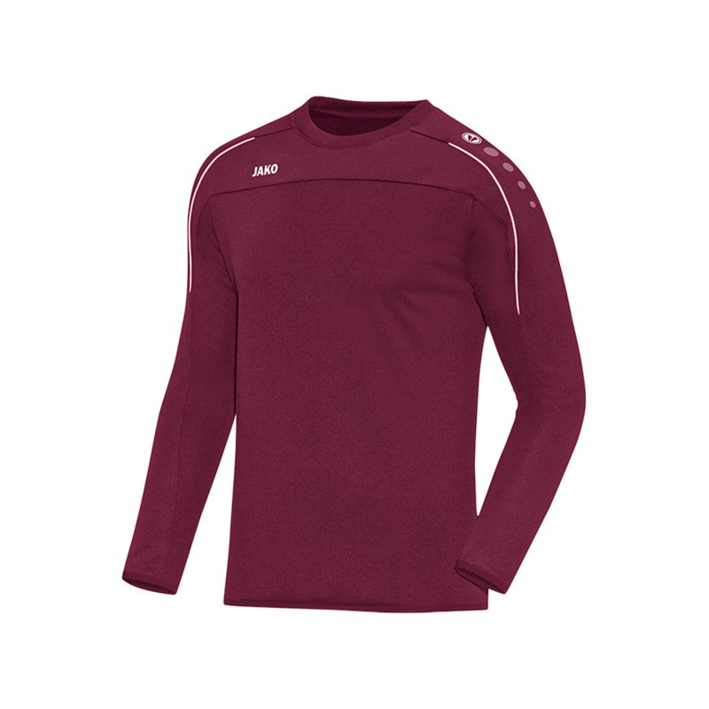 Jako Classico Sweatshirt Dunkelrot F14 - Rot