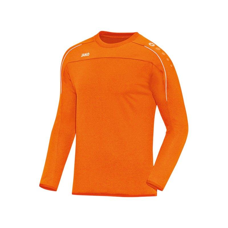 Jako Classico Sweatshirt Kids Orange F19 - Orange