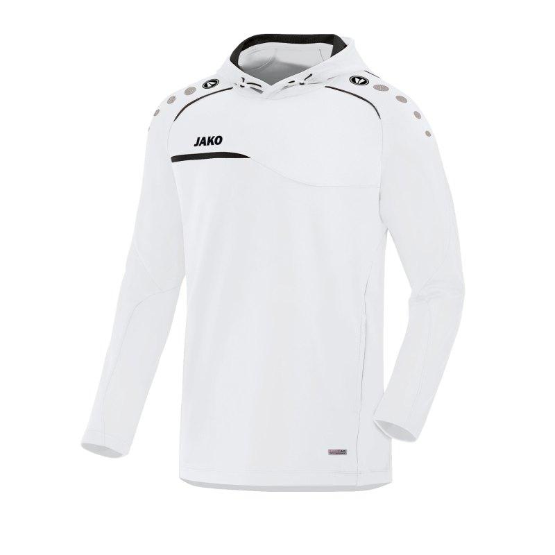 Jako Prestige Kapuzensweatshirt Kids Weiss F00 - weiss