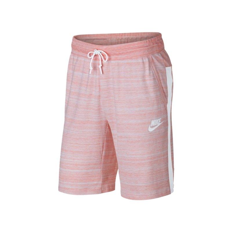 Nike Advance 15 Short Hose kurz Rosa Weiss F102 - rosa