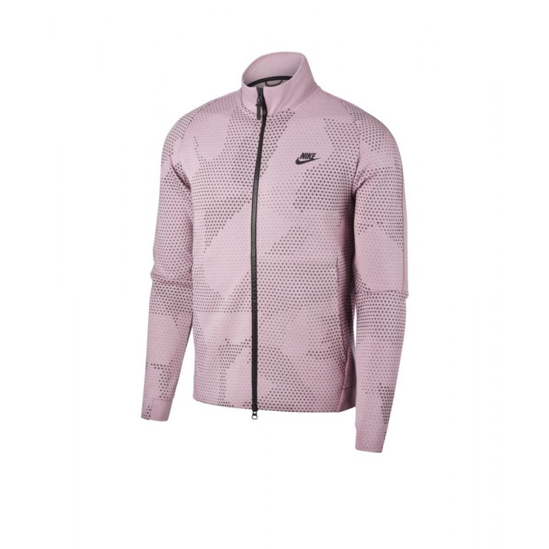 Nike Tech Fleece Jacke Rot F694 - rot