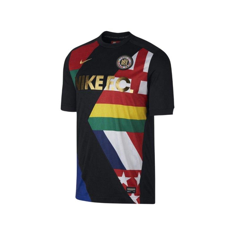 Nike F.C. T-Shirt Schwarz F010 - schwarz