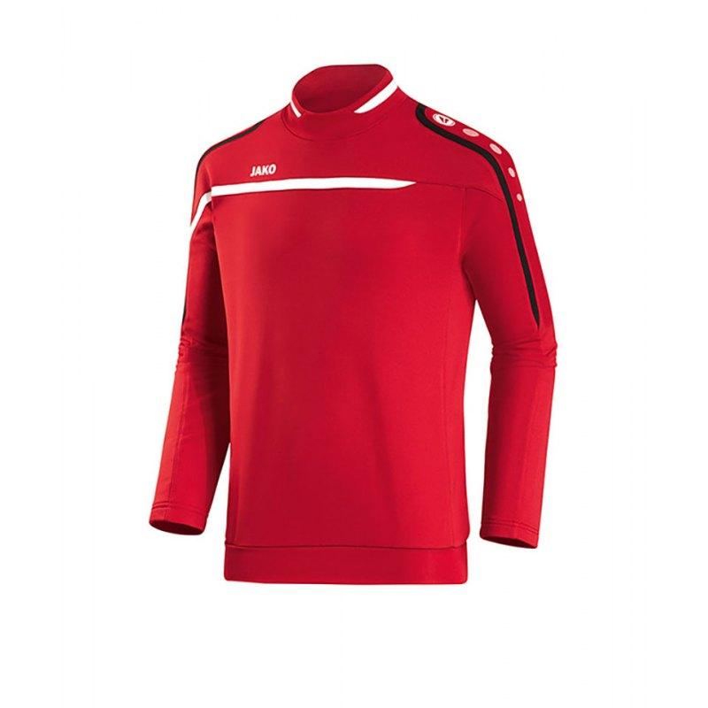 Jako Sweatshirt Performance F01 Rot Weiss - rot
