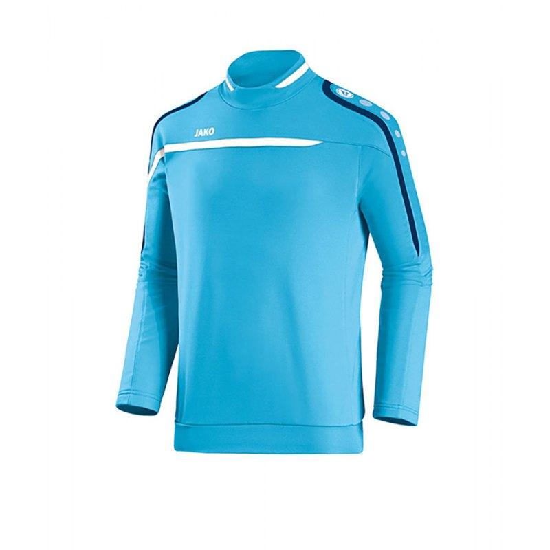 Jako Sweatshirt Performance F45 Blau Weiss - blau
