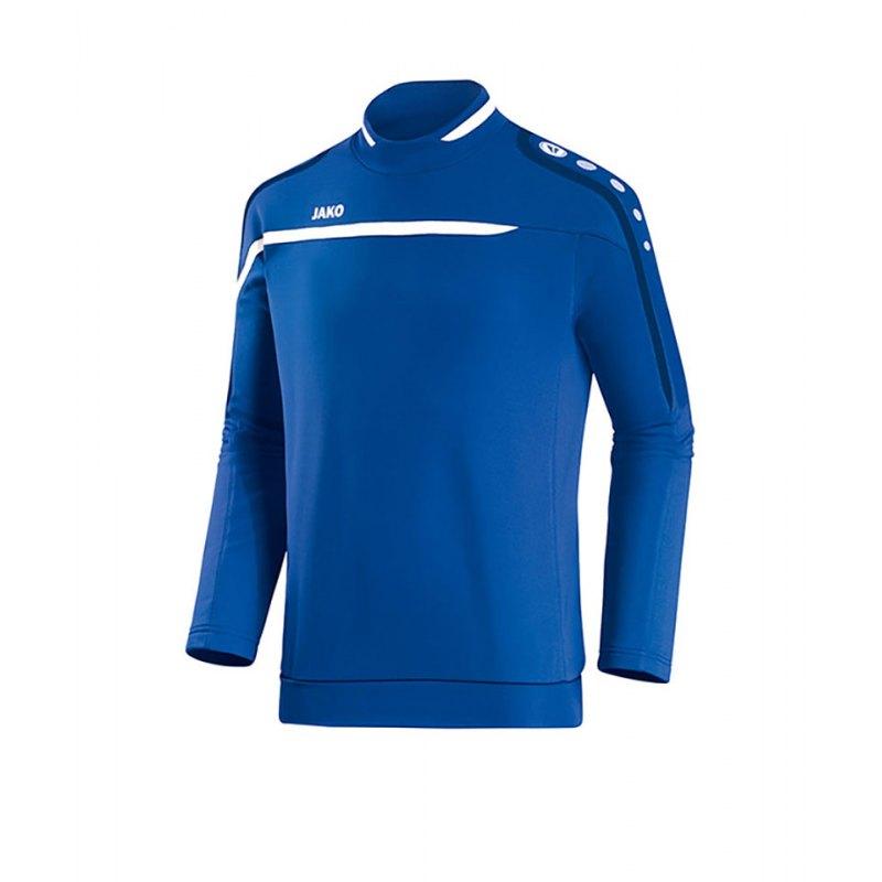 Jako Sweatshirt Performance F49 Blau Weiss - blau