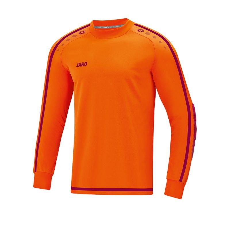 Jako Striker 2.0 Torwarttrikot Orange Rot F19 - Orange