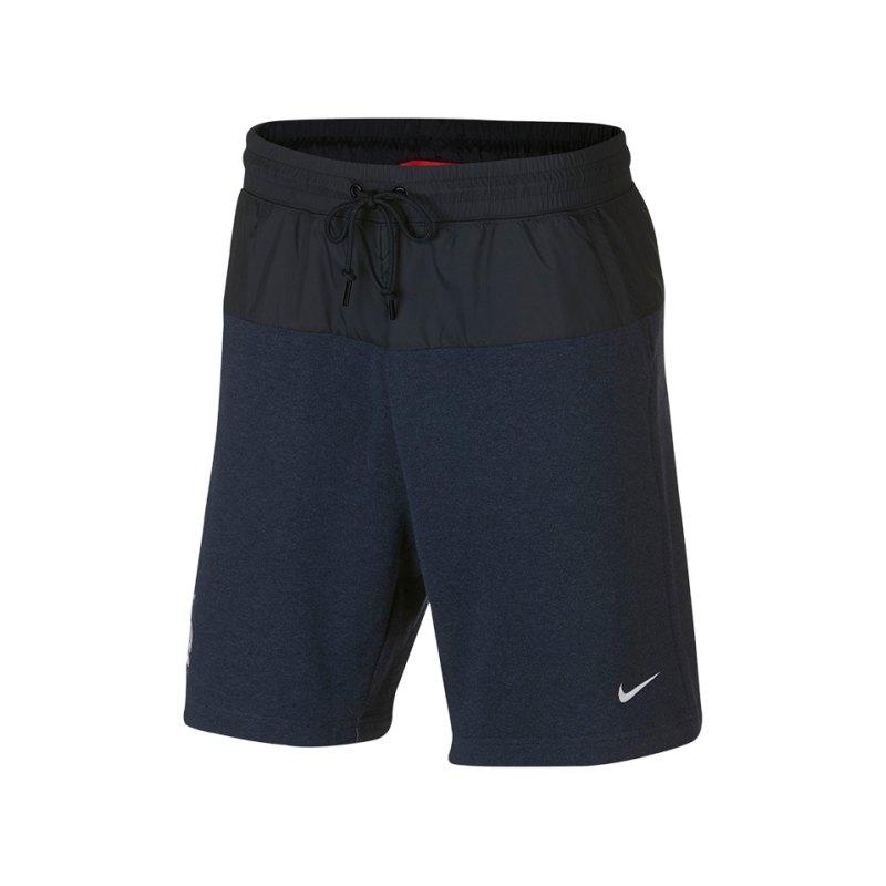 Nike Frankreich Modern Short Blau F475 - blau