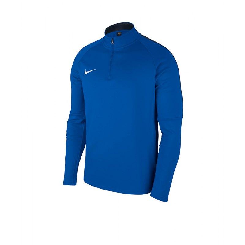 Nike Academy 18 Drill Top Sweatshirt Blau F463 - blau