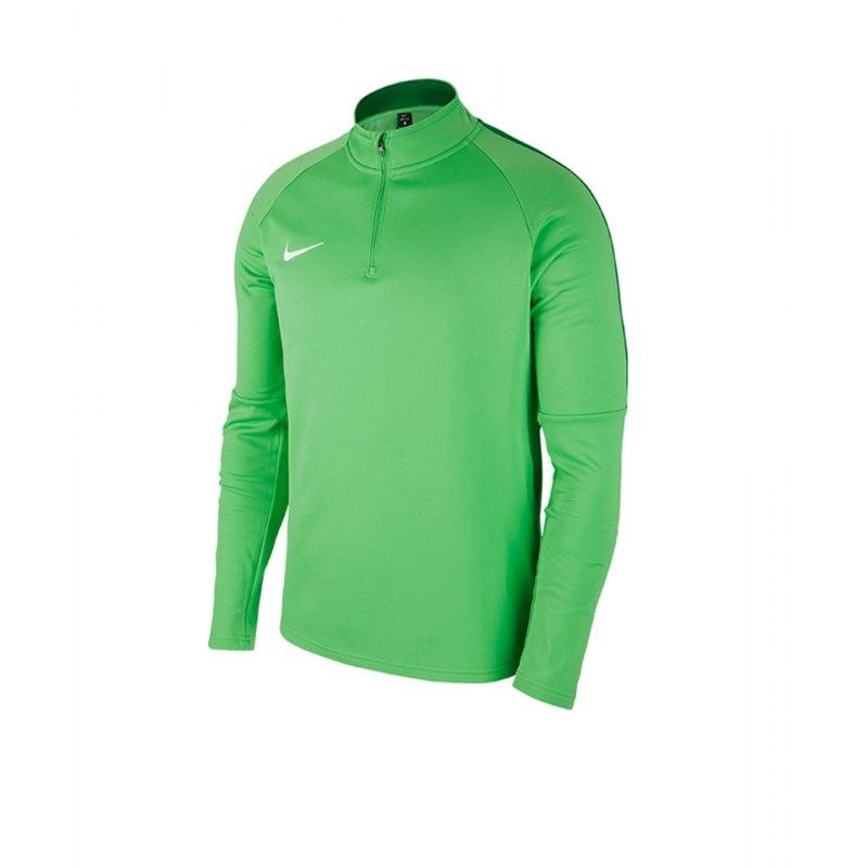 Nike Academy 18 Drill Top Sweatshirt Grün F361 - gruen