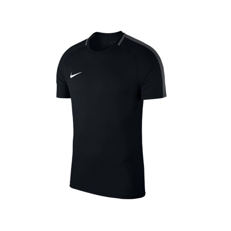 Nike Academy 18 Football Top T-Shirt Schwarz F010 - schwarz