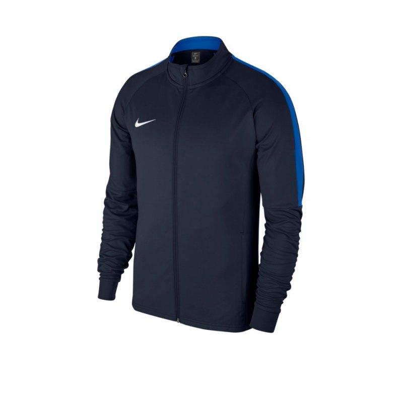 Nike Academy 18 Knit Trainingsjacke Blau F451 - blau