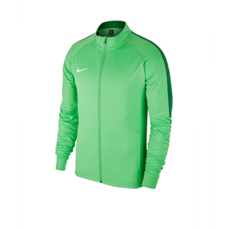 Nike Academy 18 Knit Trainingsjacke Grün F361 - gruen