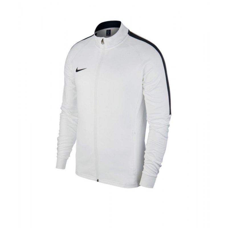 Nike Academy 18 Knit Trainingsjacke Weiss F100 - weiss