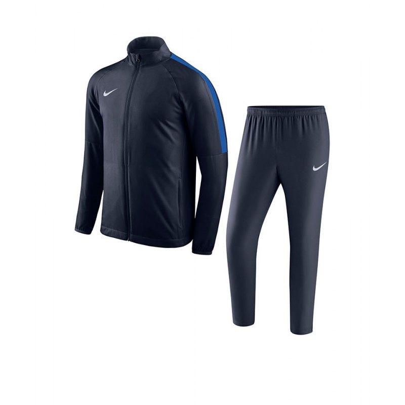 Nike Academy 18 Woven Trainingsanzug Blau F451 - blau