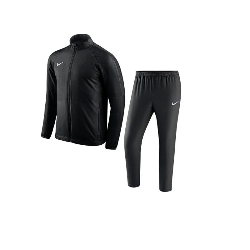 Nike Sportswear Woven Hooded Trainingsanzug Herren Schwarz
