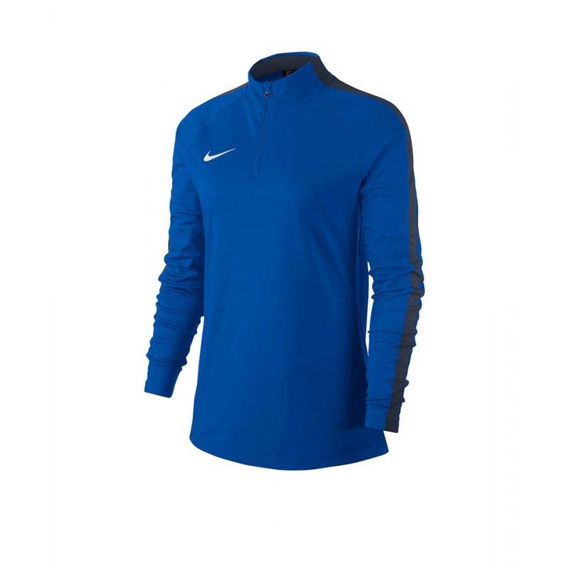 Nike Academy 18 Drill Top Sweatshirt Damen F463 - blau