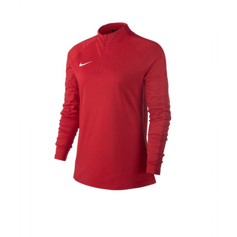 Nike Academy 18 Drill Top Sweatshirt Damen F657 - rot