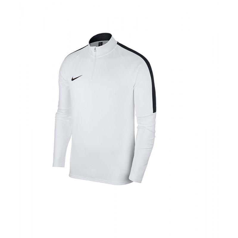 Nike Academy 18 Drill Top Sweatshirt Kids F100 - weiss