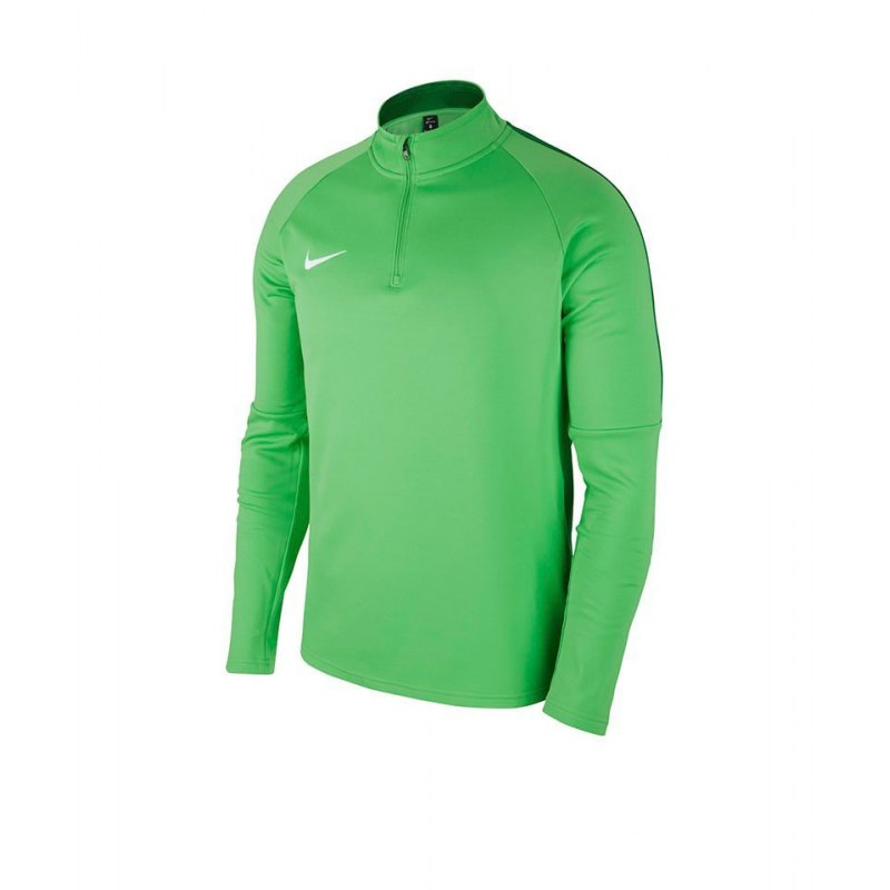 Nike Academy 18 Drill Top Sweatshirt Kids F361 - gruen