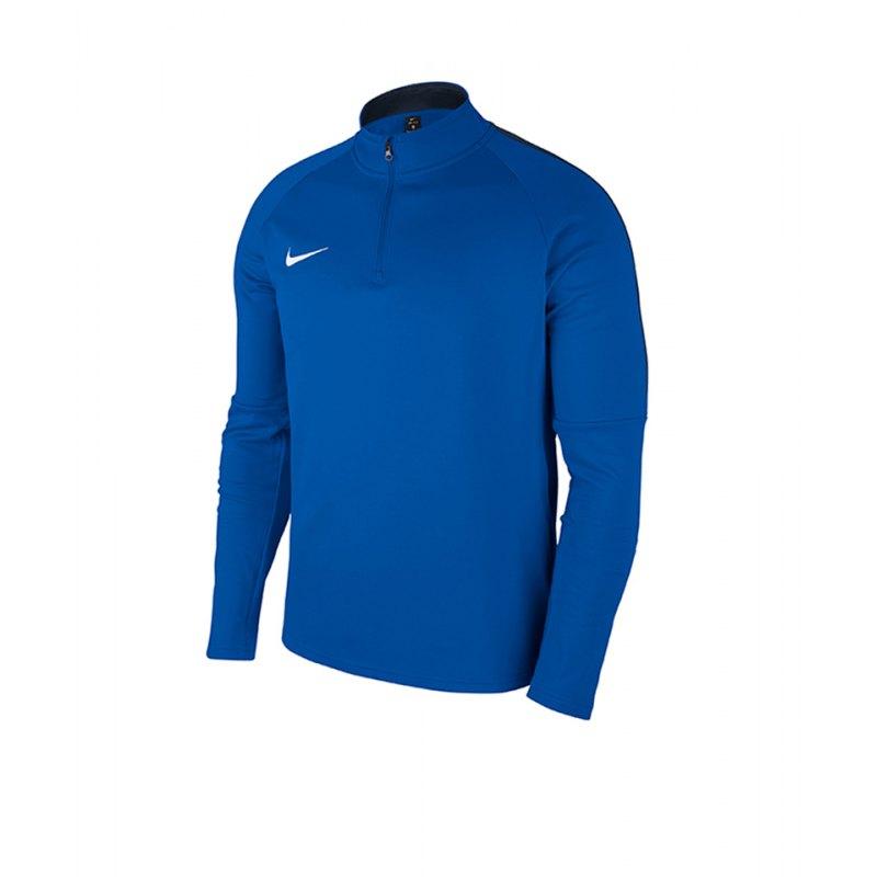 Nike Academy 18 Drill Top Sweatshirt Kids F463 - blau