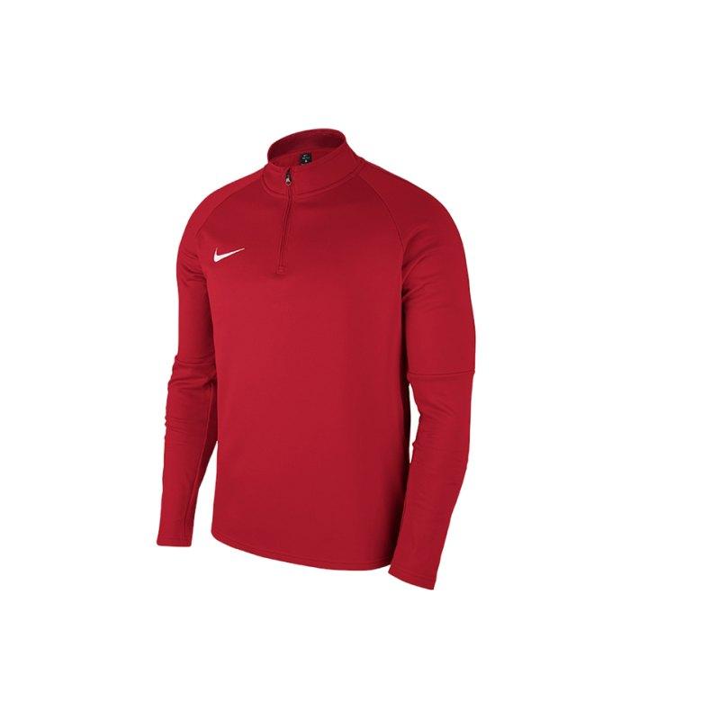 Nike Academy 18 Drill Top Sweatshirt Kids F657 - rot