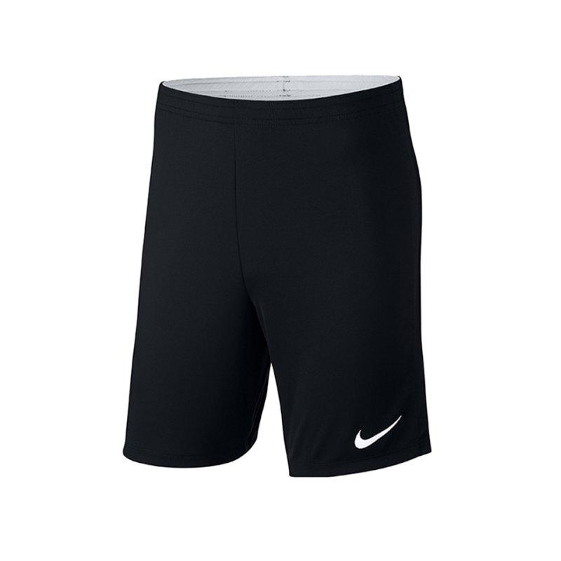 Nike Academy 18 Knit Short Kids Schwarz F010 - schwarz