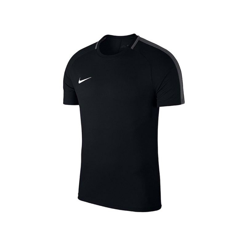 Nike Academy 18 Football Top T-Shirt Kids F010 - schwarz