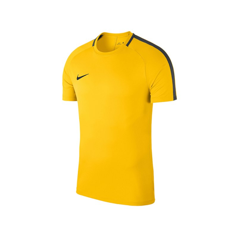 Nike Academy 18 Football Top T-Shirt Kids F719 - gelb