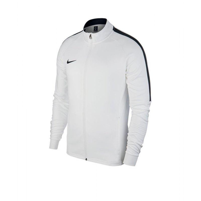 Nike Academy 18 Knit Trainingsjacke Kids F100 - weiss