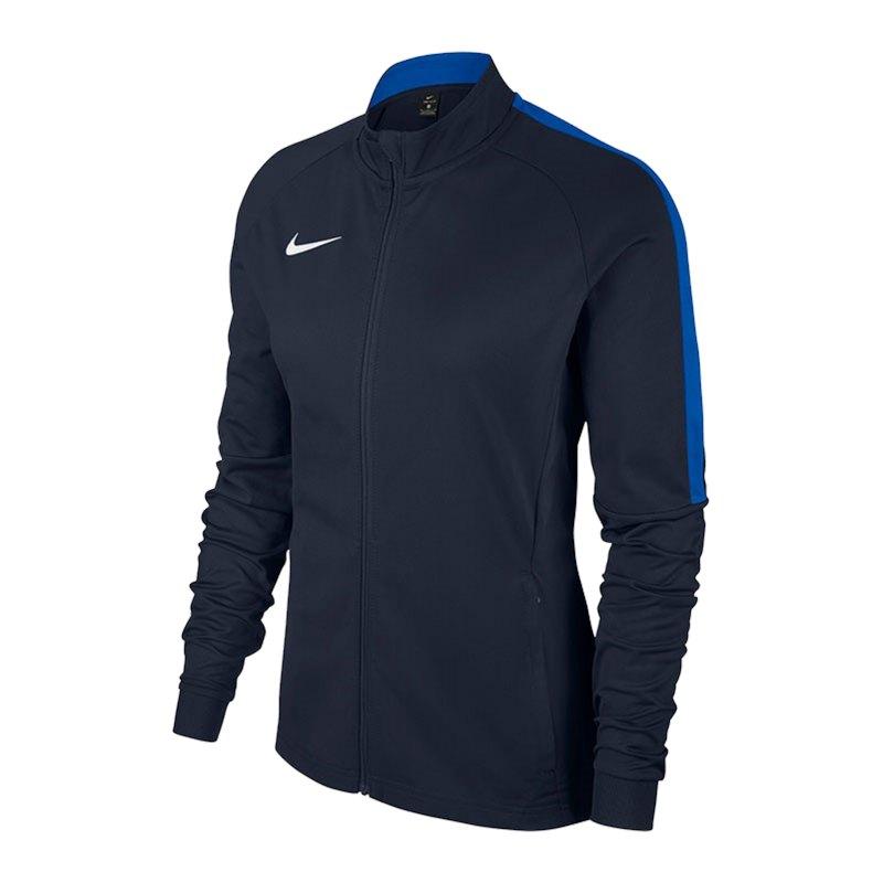 Nike Academy 18 Knit Trainingsjacke Damen F451 - blau