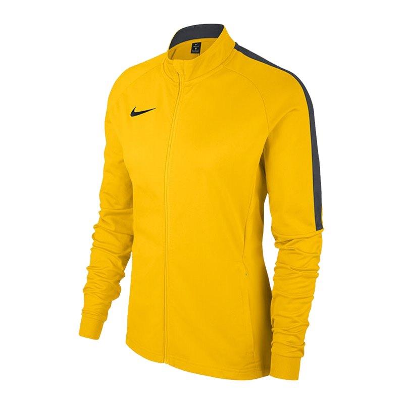 Nike Academy 18 Knit Trainingsjacke Damen F719 - gelb