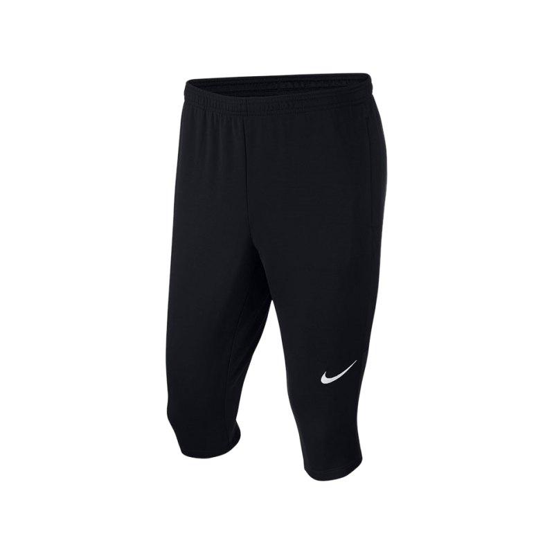 Nike Academy 18 Football 3/4 Pant Schwarz F010 - schwarz