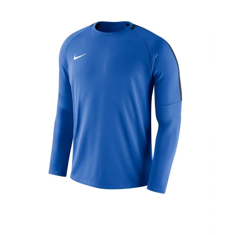 Nike Dry Academy 18 Football Top Blau F463 - blau