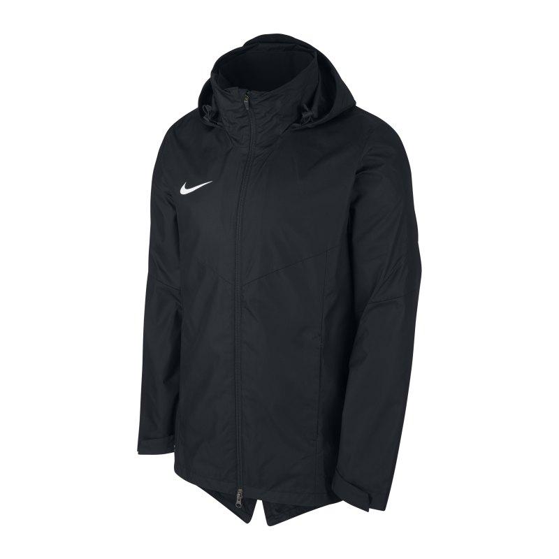 Nike Academy 18 Regenjacke Schwarz F010 - schwarz