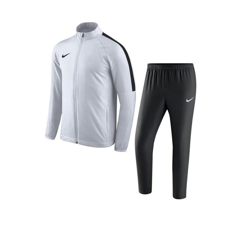 Nike Academy 18 Woven Trainingsanzug Kids F100 - weiss