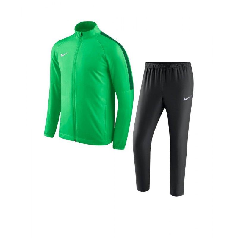 Nike Academy 18 Woven Trainingsanzug Kids F361 - gruen