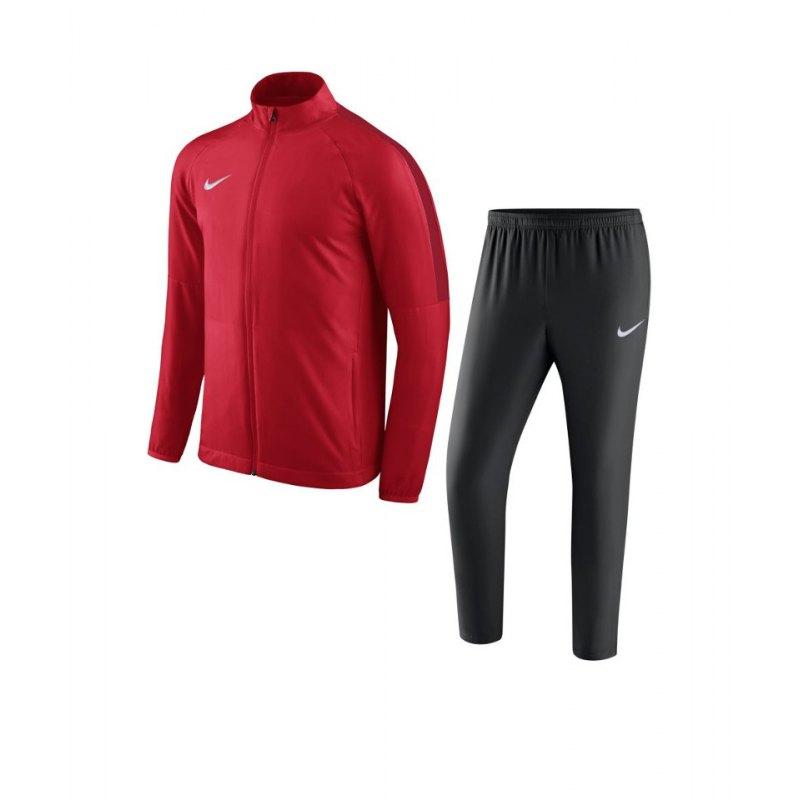 Nike Academy 18 Woven Trainingsanzug Kids F657 - rot
