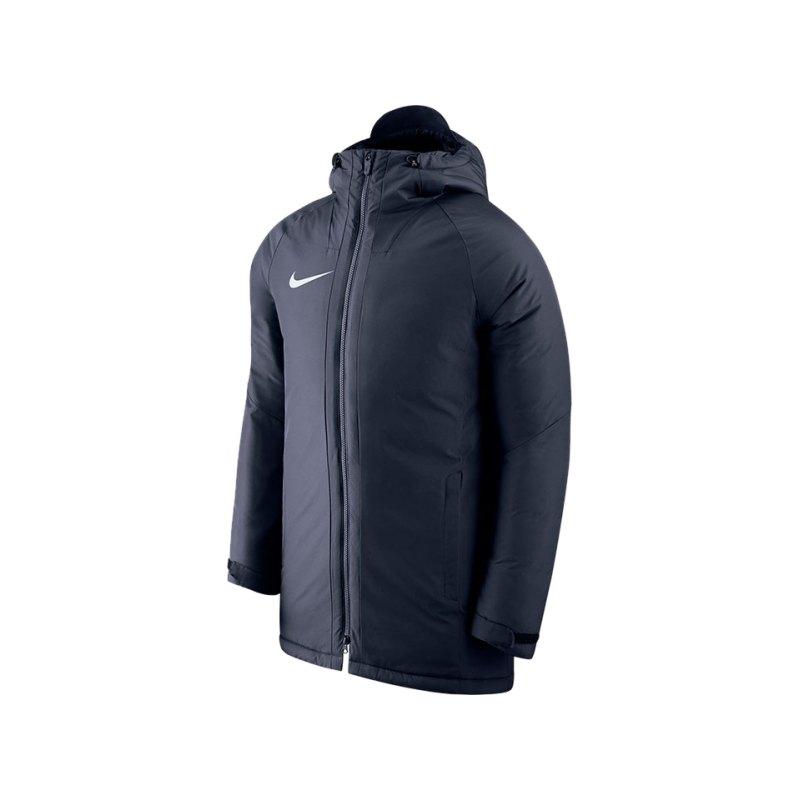 Nike Academy18 Football Jacket Blau Kids F451 - blau