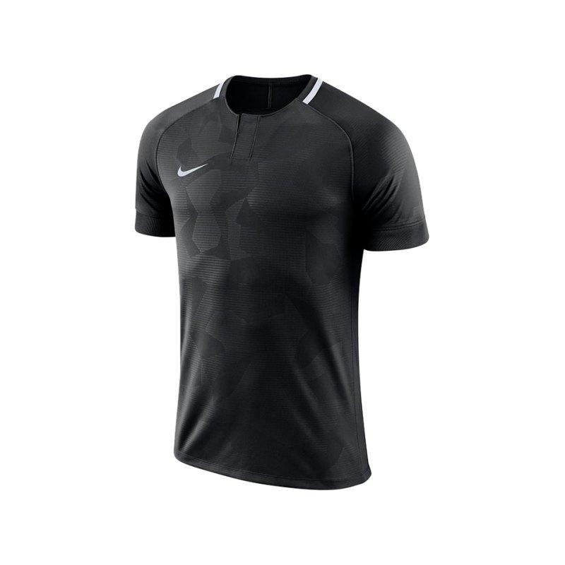 Nike Challenge II Trikot kurzarm Schwarz F010 - schwarz