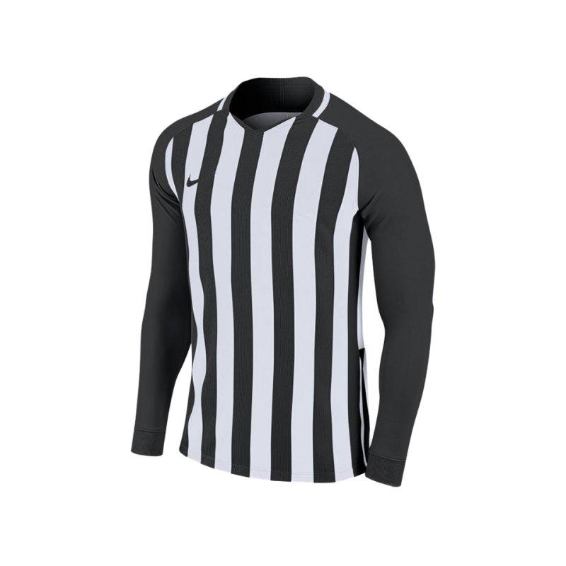 Nike Striped Division III Trikot langarm F010 - schwarz