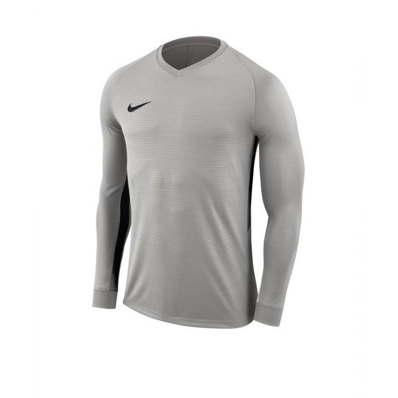 Nike Tiempo Premier Trikot Langarm F057 - grau