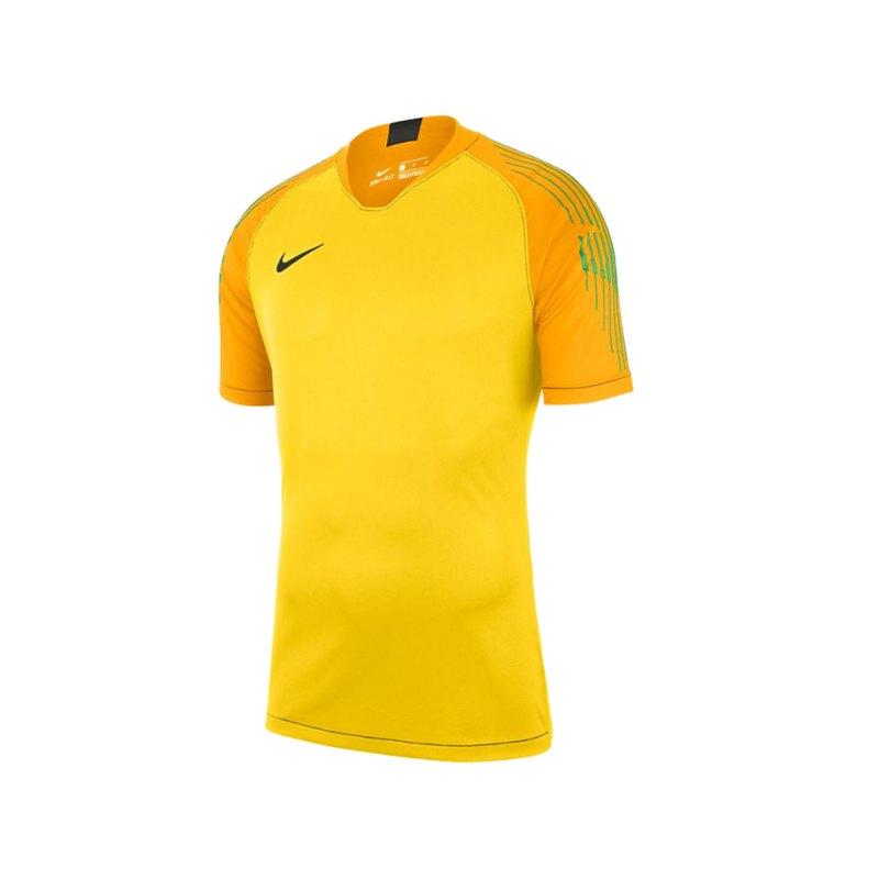 Nike Gardien II Torwarttrikot kurzarm Gelb F719 - gelb