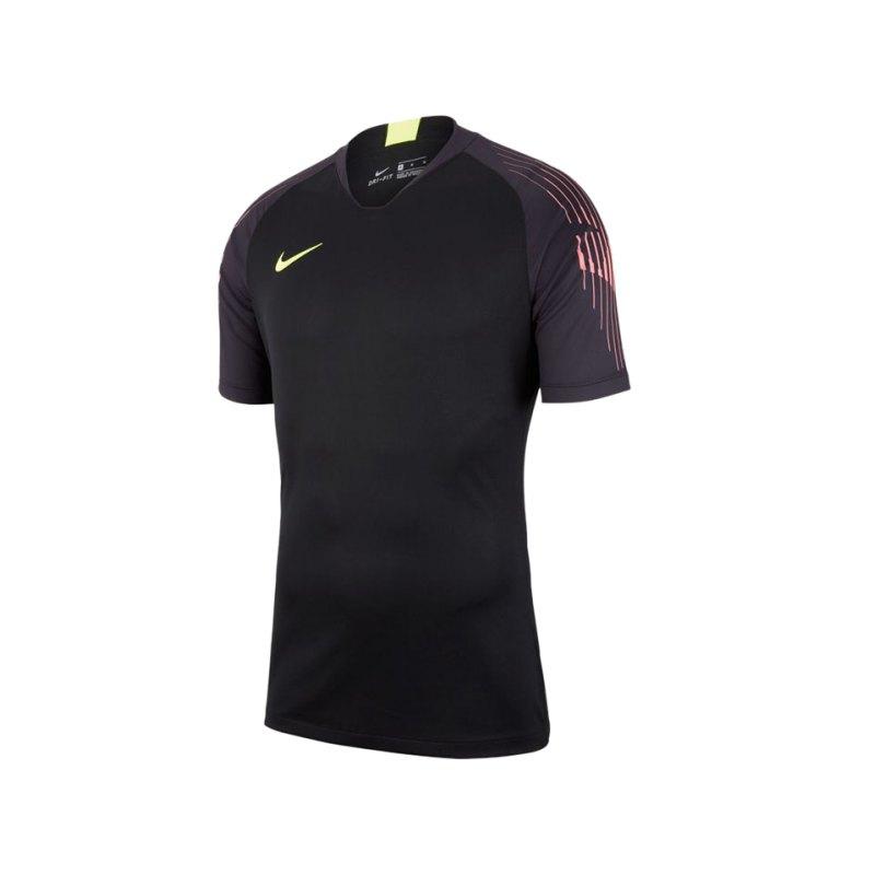 Nike Gardien II Torwarttrikot kurzarm Schwarz F010 - schwarz